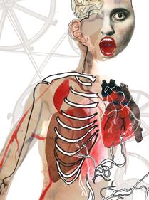 La liseuse vous éduque sur les différentes formes de lecture à travers l' anatomie du liseur