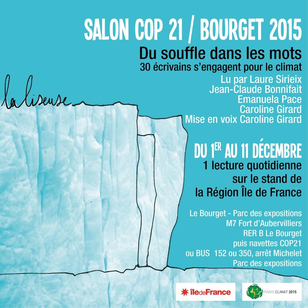 Salon COP 21 / Bourget 2015